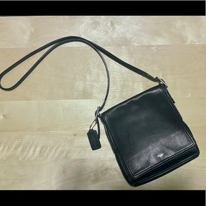 COACH Vintage Leather Small Crossbody Purse